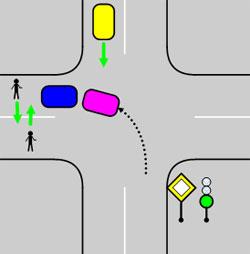 Не повернуть из-за потока пешеходов