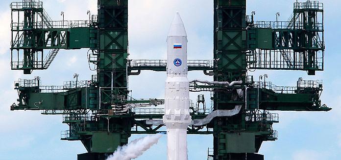 РН Ангара - первый запуск