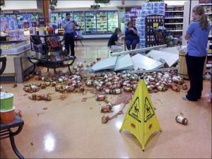 Случайно разбил в магазине бутылку и тебя заставляют платить?
